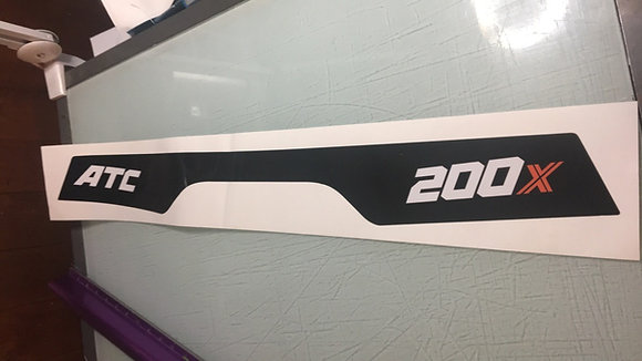 1984 ATC200X rear fender decal