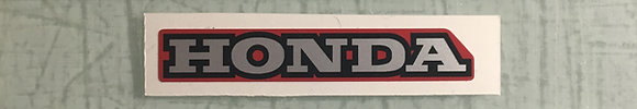 1985-86 Honda 250R Headlight decal