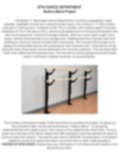 Build a Barre project page 1 for website