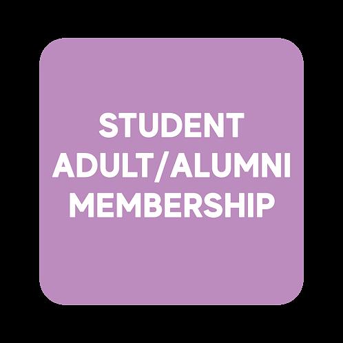 Student/Adult Membership