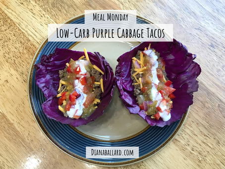 Low-Carb Purple Cabbage Tacos & The Benefits Of Eating All The Colors Of The Rainbow