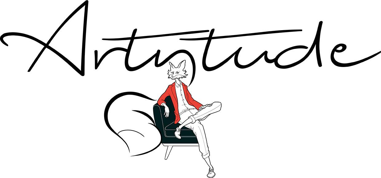 logo for artytude