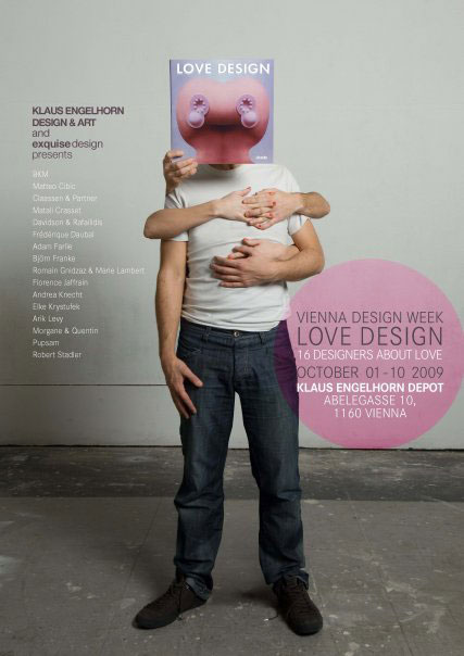 Love Design Vienne 2009, exposition