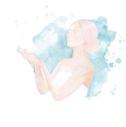 Sketch aquarelle for Kinko