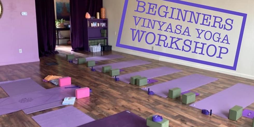 Beginners Vinyasa Yoga with Michelle Lorenze