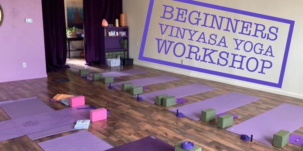 Beginner Vinyasa Yoga Workshop with Shelley