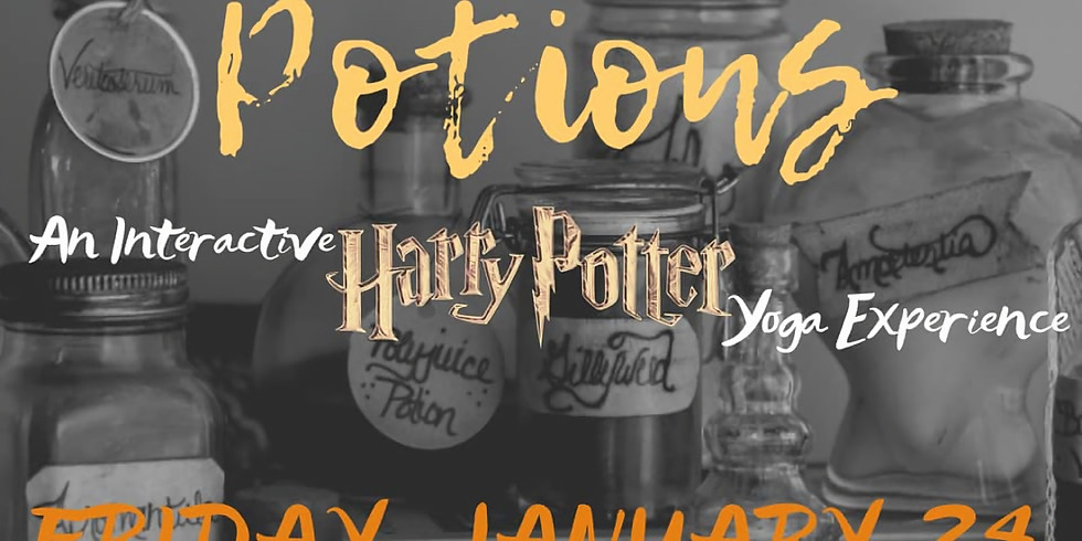 Poses and Potions - Harry Potter Yoga Experiece