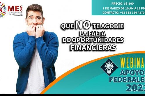 WEBINAR Fondos Federales 2021 México 🇲🇽