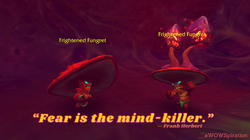 """""""Fear is the mind-killer."""""""
