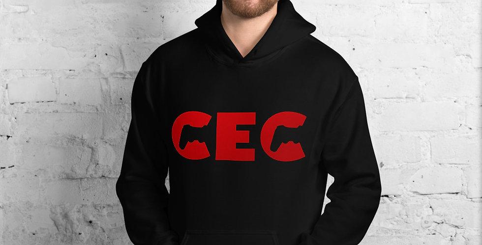 CEC Red Text Unisex Hoodie