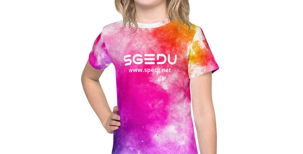 Kid's Rainbow Paint Splatter t-shirt