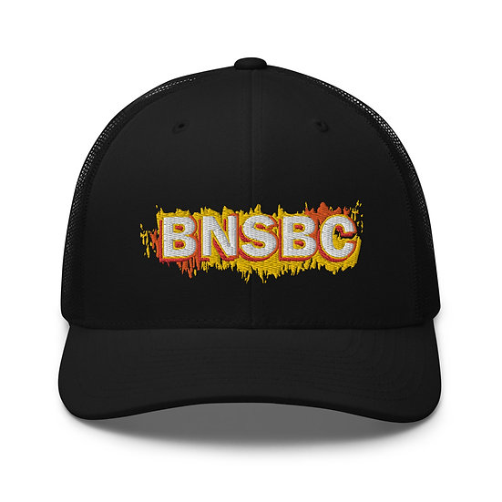 BNSBC Embroidered Mesh Sports Cap