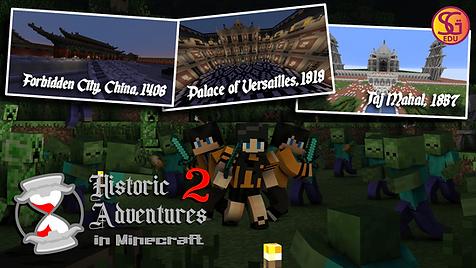 Minecraft Historic Adventures 2 v2 Poste