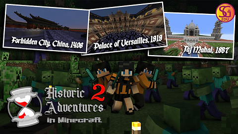Minecraft Historic Adventures 2 v2 Poste