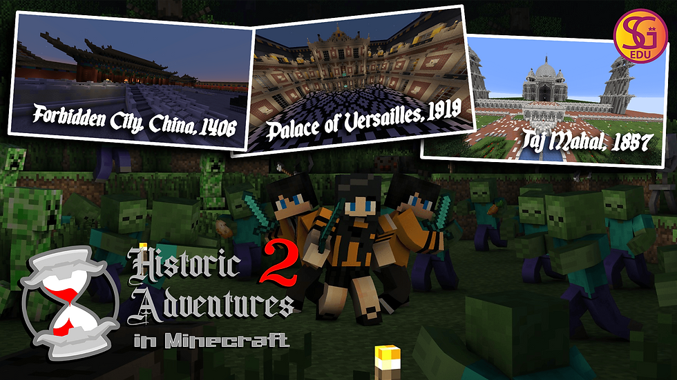 Historic Adventures 2 in Minecraft™ - Ages 8 to 12