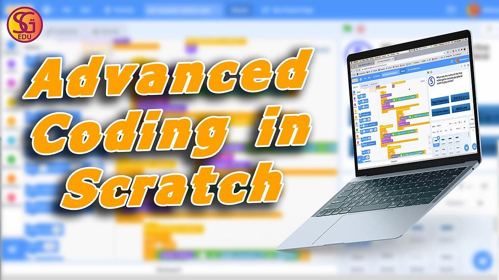 Advanced Coding in Scratch - Fri (Xtreme)