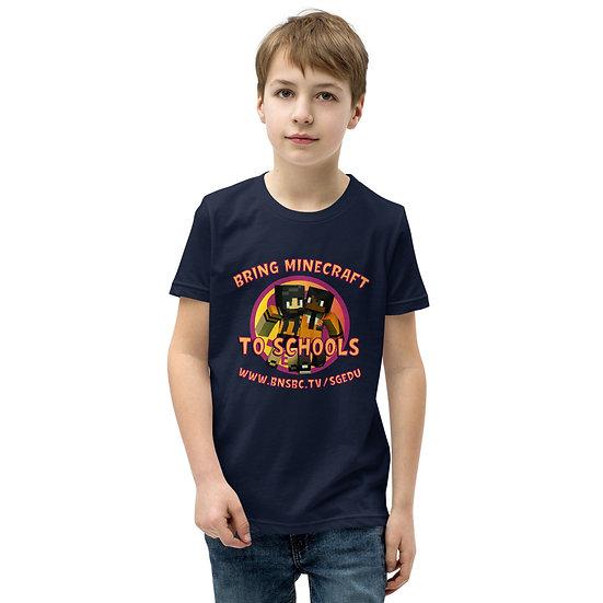 LIMITED EDITION Youth Minecraft SGEDU T-Shirt