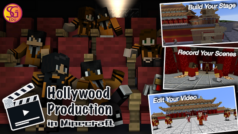 Minecraft Hollywood Production Poster.pn