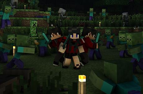 SpecGraphixEDU Minecraft Zombies 2 in 4K