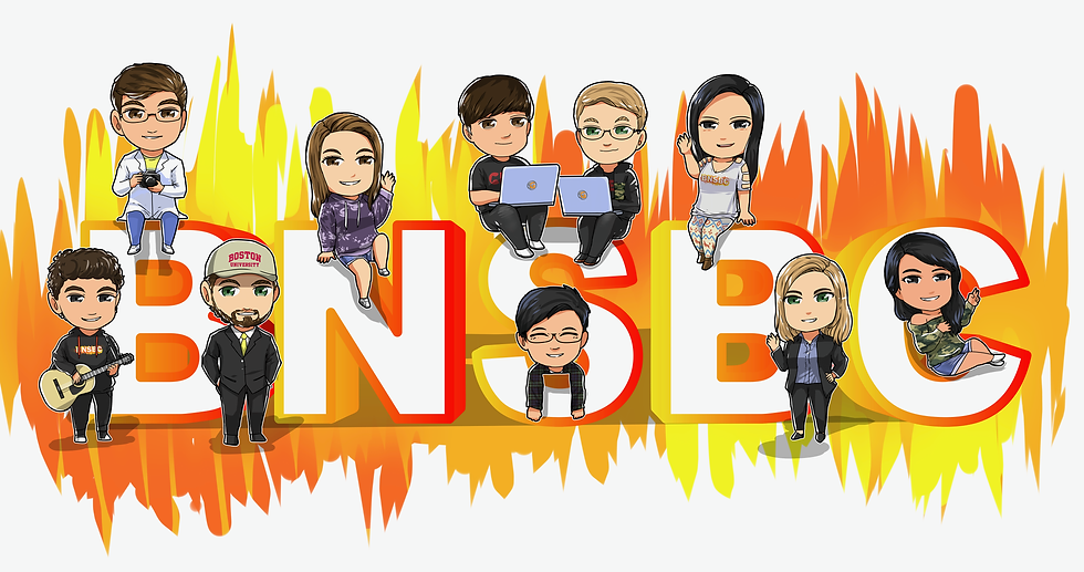 BNSBC Media Ventures Chibi Team Logo Art