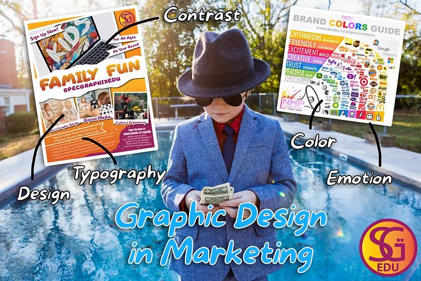 Graphic Design in Marketing - Tue & Thu
