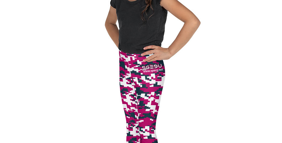 Girl's Digital Camo Leggings