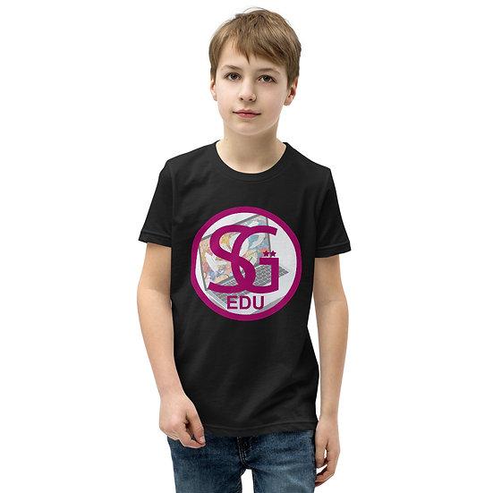 Youth SGEDU Laptop T-Shirt