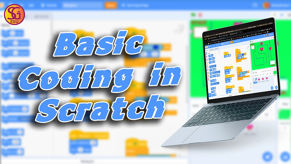 Basic Coding in Scratch - Ages 7 to 12