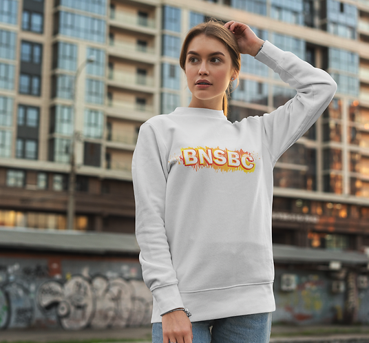 White BNSBC Sweatshirt