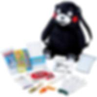 くまモンの非常持出リュック 12点セット KUMA12P.jpg