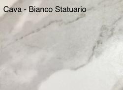 CAVA - BIANCO STATUARIO