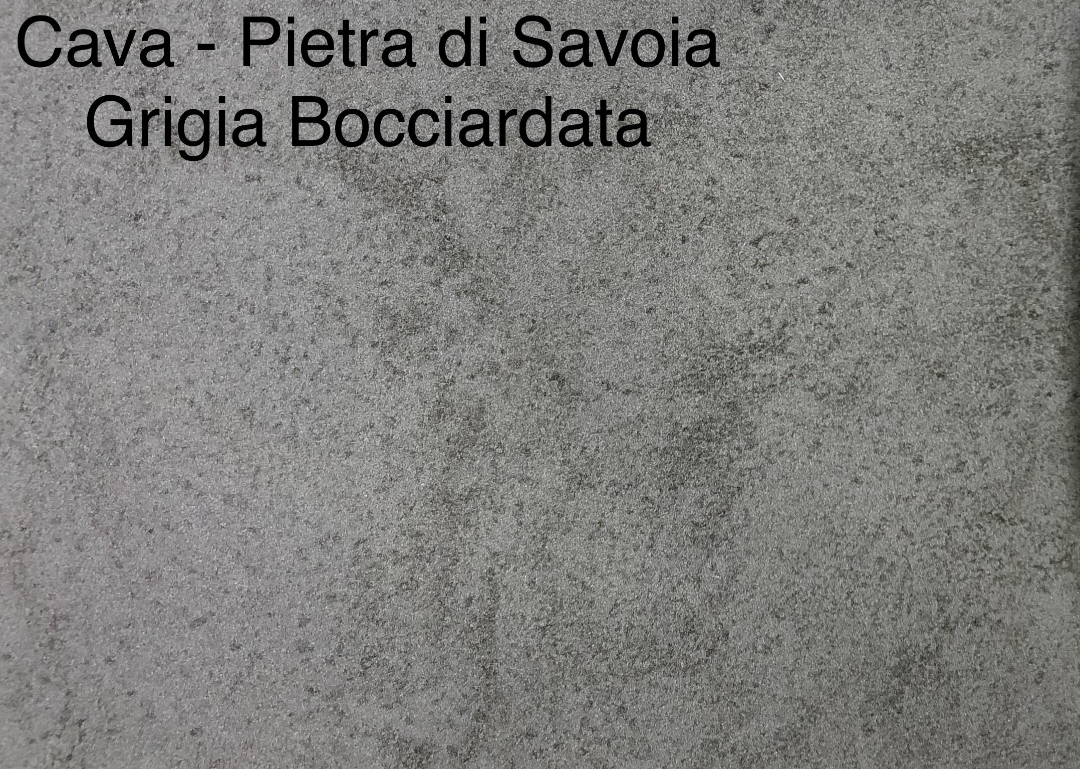 CAVA - PIETRA DI SAVOIA GRIGIO BOCCIARDATA