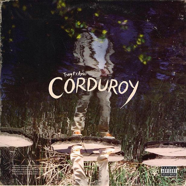 'Corduroy' EP artwork: Travy P's reflection on water