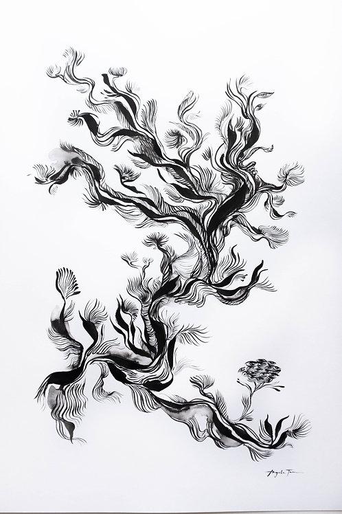 Angela Tam 'Tree I've never seen until now', 2020.