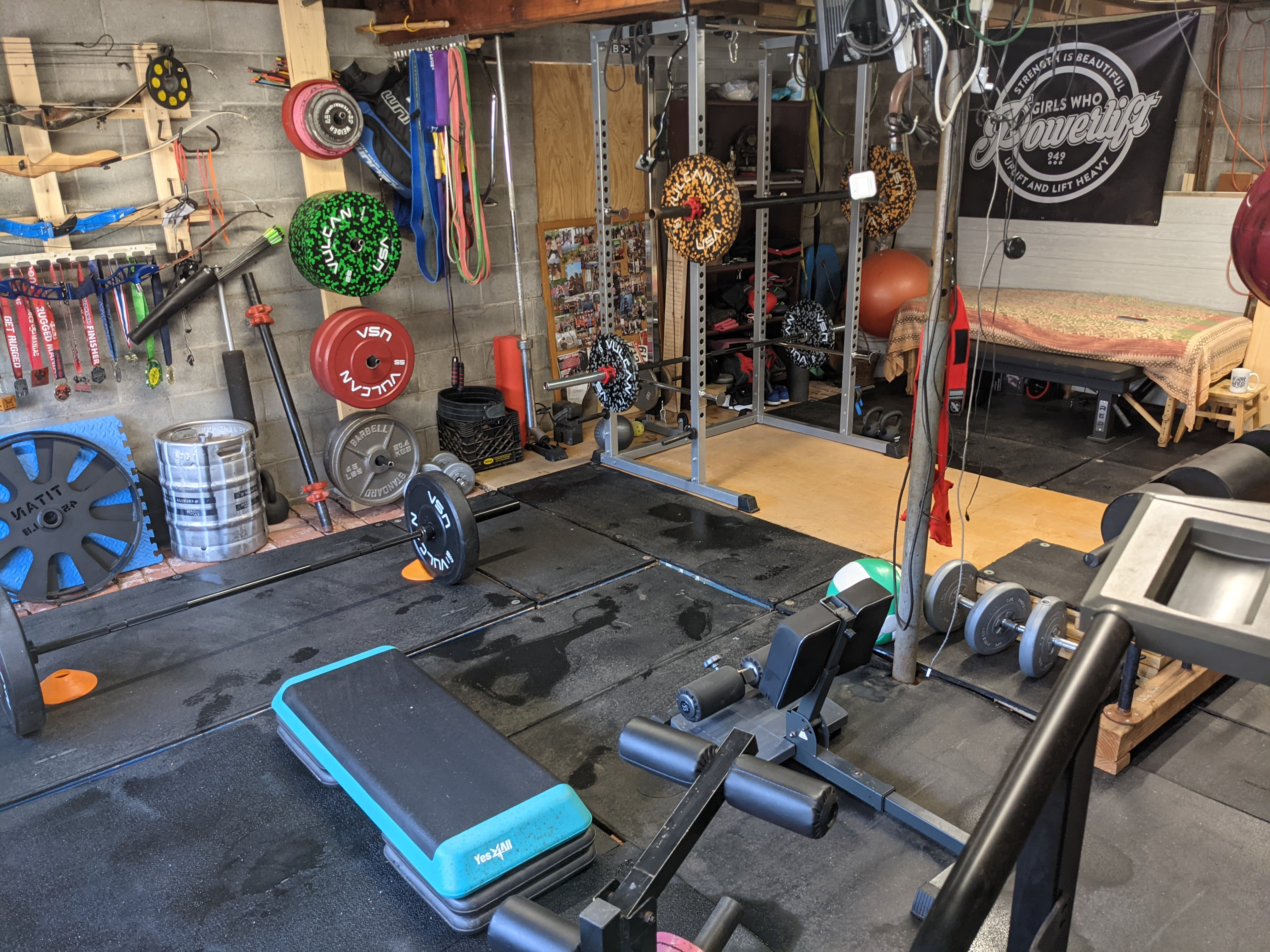 Strength Training Workout Session