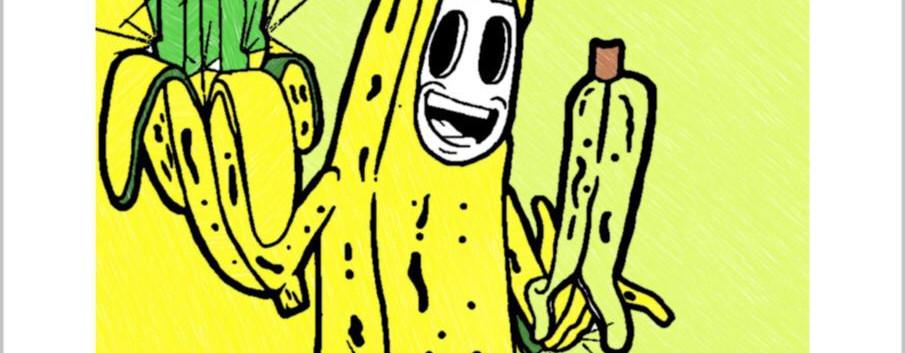 Banana atômica no deserto