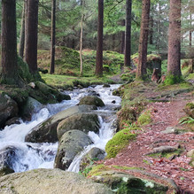 Lugduff Brook at the top of Poulanass