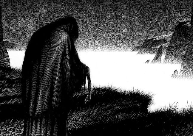 Death stalks the land