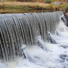 Old Wynne Hydro Weir