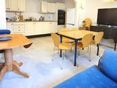 Dochas Kitchen Dining area