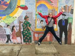 Brooklyn Mural Bowie Jacket