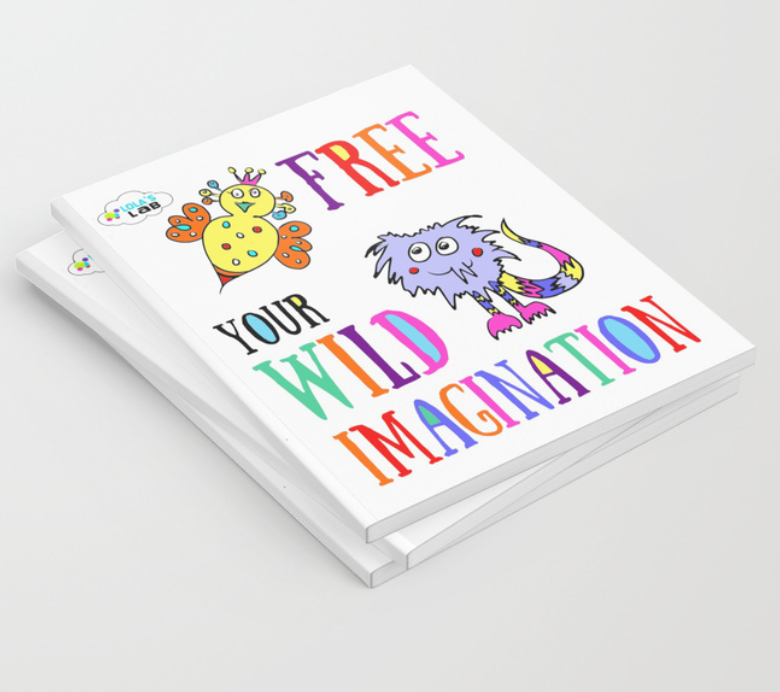 Journals and Sketchbooks! Let your kids unleash thier creativity!