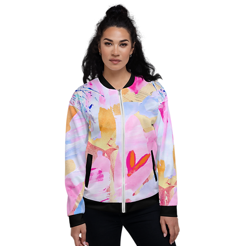 LOVE- All-Over Print Unisex Bomber Jacket