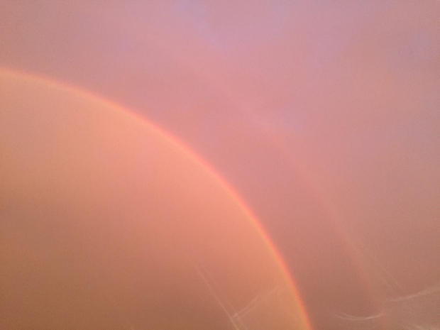 Warm Double Rainbow