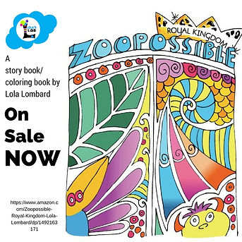 Zoopossible Coloring book