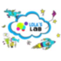 Lola's lab cloud logo tee shirt