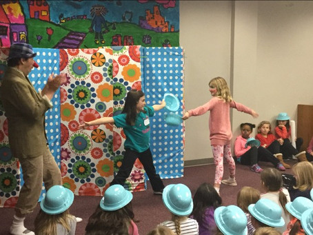Open your child's mind to interactive art with improv!