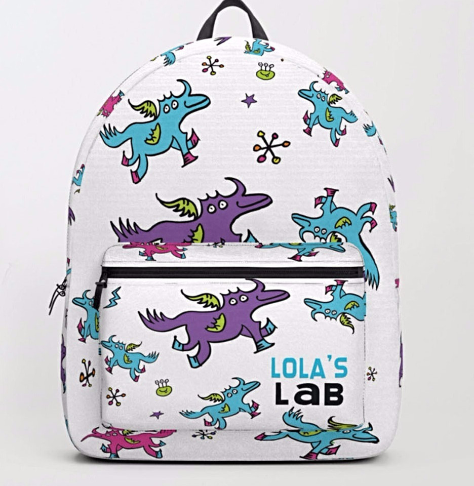 Lola's Lab's adorable unicorn!
