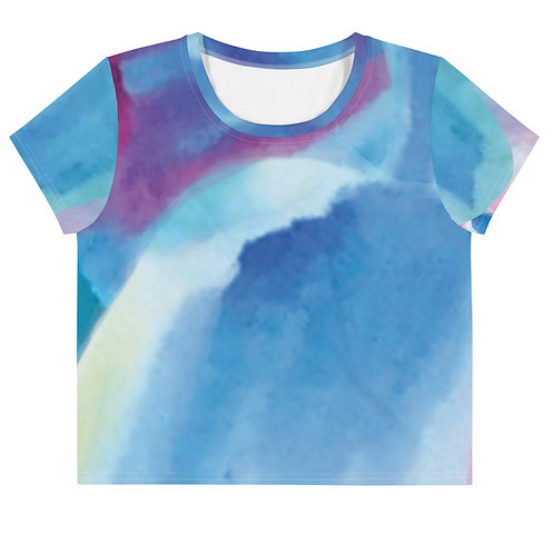 Watercolors - All over print tee