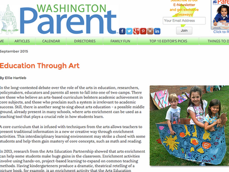 Lola's Lab featured in Washington Parent Magazine!